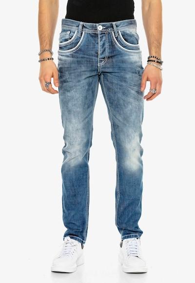 CIPO & BAXX Jeans 'Busk' in blau, Modelansicht