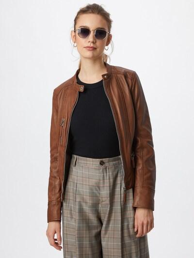 OAKWOOD Prehodna jakna   rjava barva: Frontalni pogled