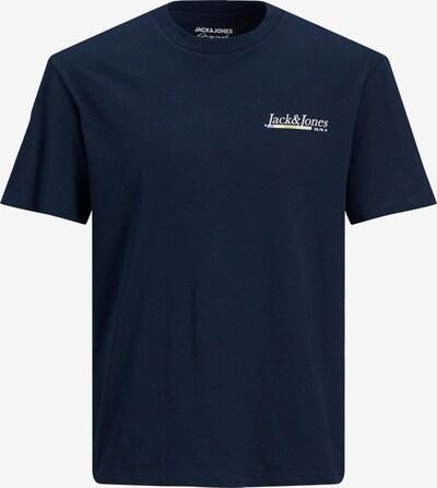 JACK & JONES Majica 'Clay' u mornarsko plava / bijela, Pregled proizvoda