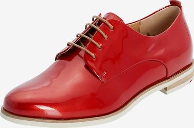 LLOYD Halbschuhe in Glanzoptik in rot, Produktansicht