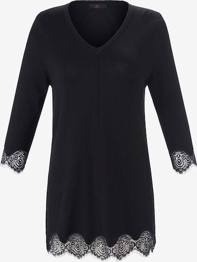 Emilia Lay 3/4 Arm-Pullover Pullover in schwarz, Produktansicht