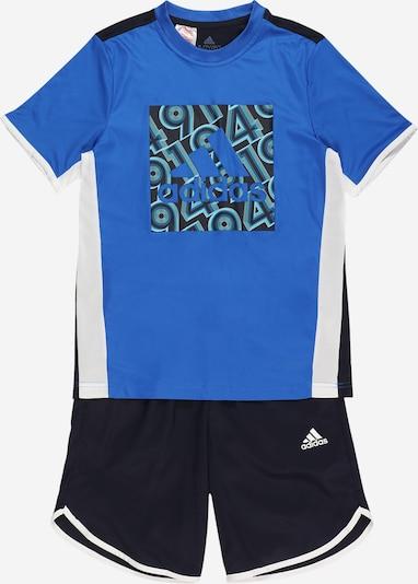 ADIDAS PERFORMANCE Sportski komplet u noćno plava / kraljevsko plava / pastelno plava / bijela, Pregled proizvoda