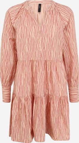 Y.A.S Tall Sukienka 'YASSUFILLA' w kolorze różowy
