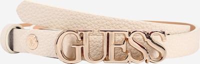 GUESS Ceinture 'UPTOWN' en beige, Vue avec produit