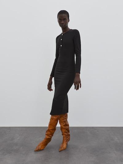 EDITED Kleid 'Silvana' in schwarz, Modelansicht