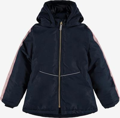 NAME IT Between-season jacket in Night blue / Gold / Pink, Item view