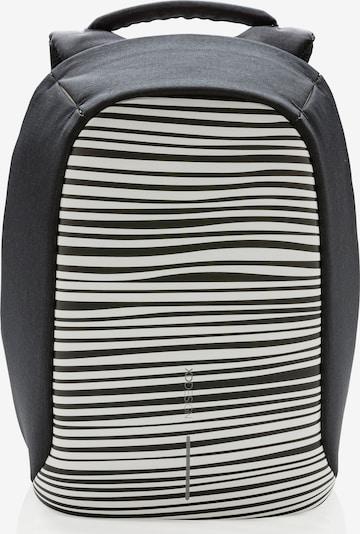 XD Design Sac à dos 'Bobby Compact' en gris foncé / noir / blanc, Vue avec produit