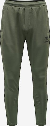 Hummel Športové nohavice 'Nathan 2.0' - olivová / čierna, Produkt