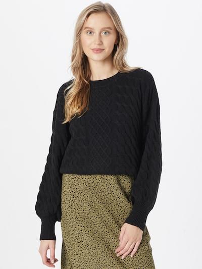VILA Sweater 'ZURI' in Black, View model