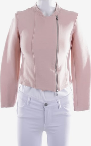 Harris Wharf London Sweatshirt & Zip-Up Hoodie in XS in Silver