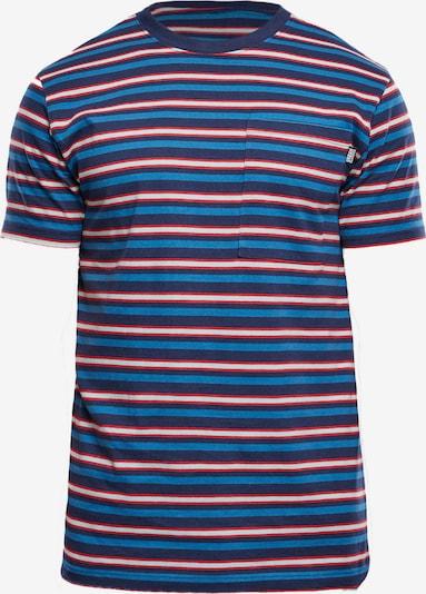 Urban Classics Big & Tall T-Krekls debeszils / tumši zils / sarkans / balts, Preces skats
