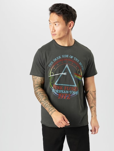 AMPLIFIED Koszulka 'PINK FLOYD TOUR 72' w kolorze ciemnoszary / mieszane kolorym: Widok z przodu