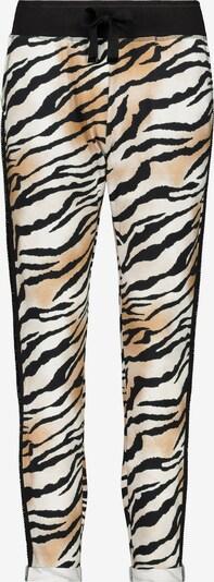 Pantaloni monari pe maro / negru / alb, Vizualizare produs