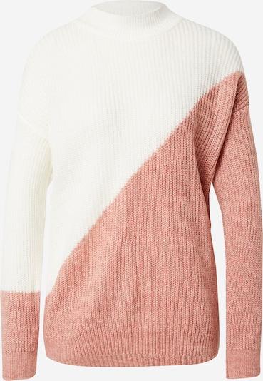 DeFacto Pullover in pink / weiß, Produktansicht