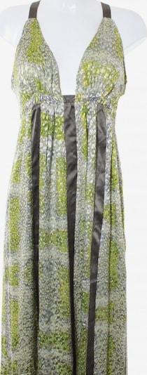 S'NOB Abendkleid in M in braun / grasgrün / weiß, Produktansicht