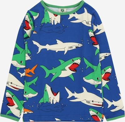 Småfolk Тениска 'Sharks' в синьо / лайм / оранжево / светлочервено / бяло, Преглед на продукта