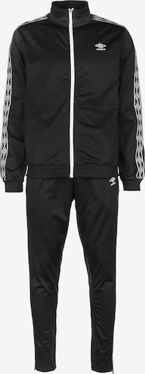UMBRO Trainingsanzug in schwarz / weiß, Produktansicht