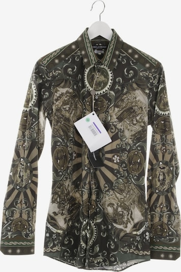 DOLCE & GABBANA Freizeithemd  in S in khaki, Produktansicht