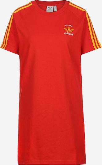 ADIDAS ORIGINALS Kleid ' 3 Stripes ' in orangerot, Produktansicht