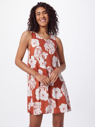 ROXY Kleid 'SWEET WHISPER' in koralle / weiß, Modelansicht
