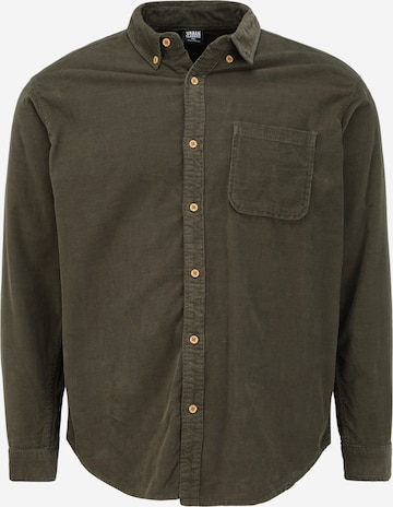 Camicia di Urban Classics in verde