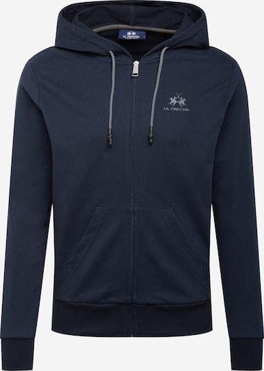 La Martina Sweatvest in de kleur Navy, Productweergave