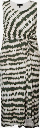 Ulla Popken Kleid in oliv / weiß, Produktansicht