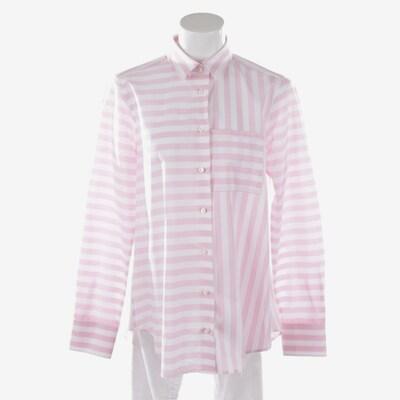 Soluzione Bluse in pink / weiß, Produktansicht