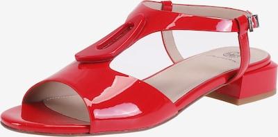 Ekonika Sandalen in rot, Produktansicht