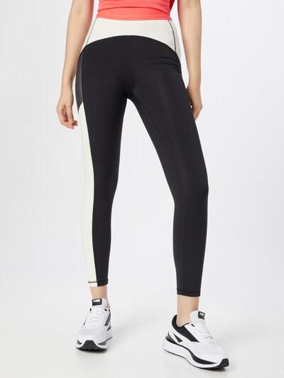 PUMA Sporthose in lachs / schwarz / weiß, Modelansicht