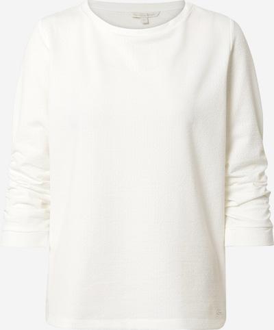 Bluză de molton TOM TAILOR DENIM pe alb, Vizualizare produs