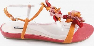BELMONDO Riemchen-Sandalen in 41 in orange / rosa / rot, Produktansicht