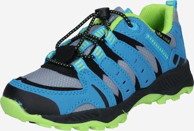 LICO Lage schoen 'Fremont' in de kleur Blauw / Lichtgroen / Zwart, Productweergave