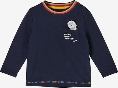 s.Oliver Shirt in marine / hellblau / gelb / rot / weiß, Produktansicht