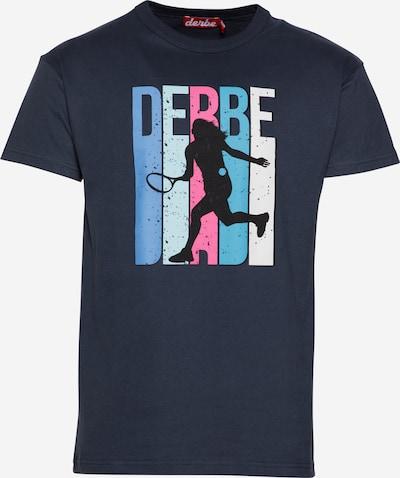 Derbe Shirt in navy / mischfarben, Produktansicht
