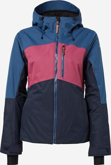 ICEPEAK Veste de sport 'Kate' en bleu clair / bleu foncé / rose, Vue avec produit
