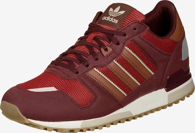 ADIDAS ORIGINALS Sneaker 'ZX 700 HD' in hellbraun / grau / rot / blutrot / weiß, Produktansicht