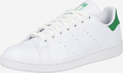 ADIDAS ORIGINALS Baskets basses 'Stan Smith' en vert gazon / blanc, Vue avec produit