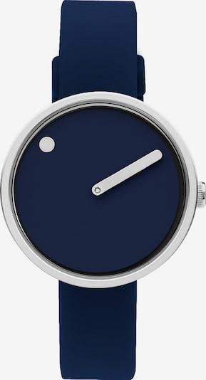 Picto Uhr in navy / silber, Produktansicht