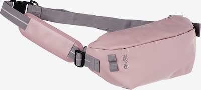 BREE Gürteltasche in grau / rosa, Produktansicht