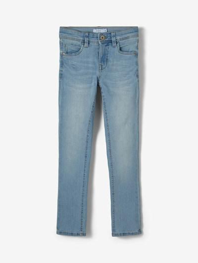NAME IT Jeans 'Theo' in de kleur Lichtblauw, Productweergave