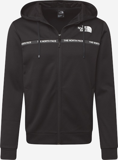 THE NORTH FACE Functionele jas 'Train' in de kleur Zwart / Wit, Productweergave