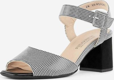 PETER KAISER Sandalette in schwarz / weiß, Produktansicht
