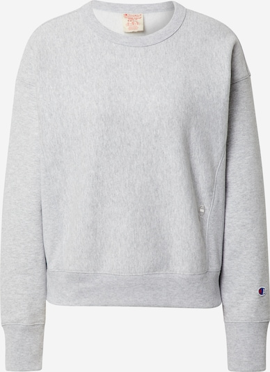 Champion Reverse Weave Sweat-shirt en gris chiné, Vue avec produit