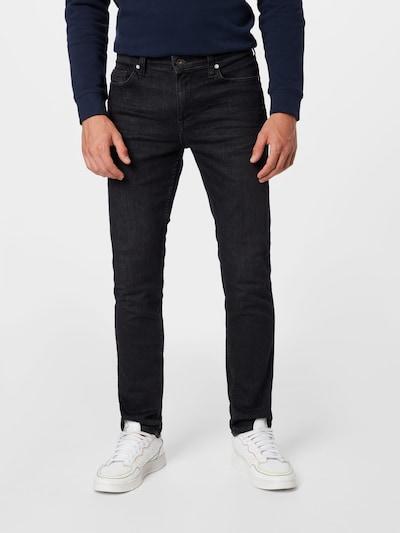 Jeans 'Vegas' MUSTANG pe negru denim, Vizualizare model
