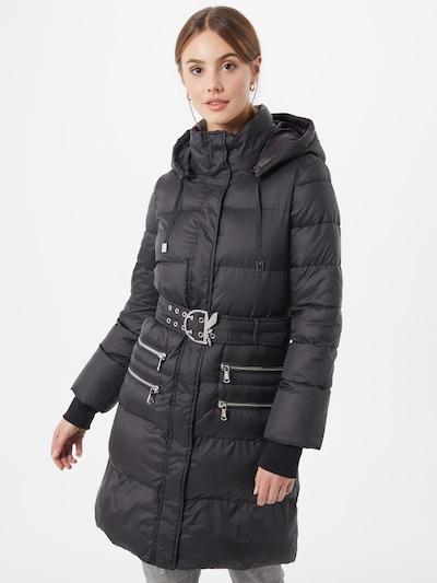 PATRIZIA PEPE Vinterfrakke i sort, Modelvisning