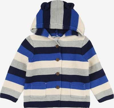 GAP Strickjacke in blau / weiß, Produktansicht