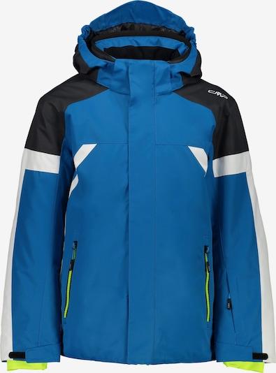 CMP Sportjas in de kleur Blauw / Zwart / Wit, Productweergave