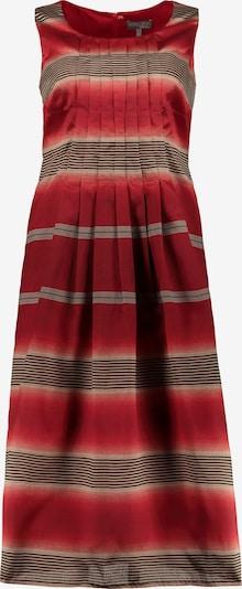 Ulla Popken Ulla Popken Damen große Größen Kleid 724190 in rot, Produktansicht