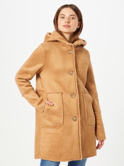 Amber & June Zimní kabát - světle hnědá, Model/ka